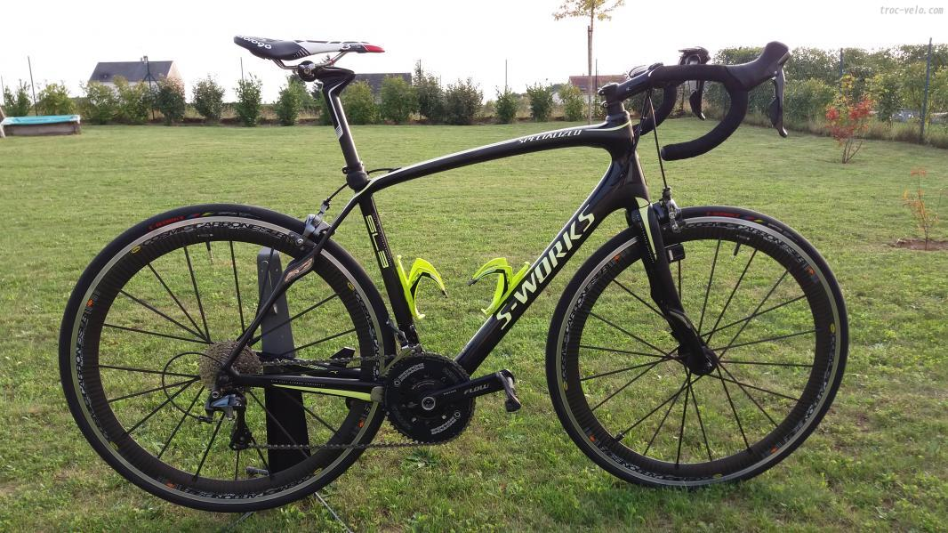 Velo occasion specialized roubaix