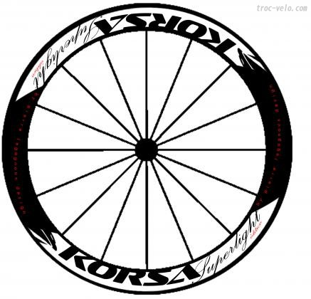 Achat roue velo route occasion