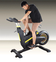 Velo spinning soldes