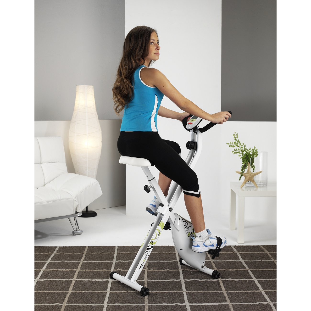 Pedale velo appartement go sport