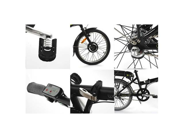 Velo electrique pliable watt's up s2